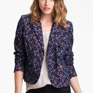 JUICY COUTURE Lace Blazer Double Breasted